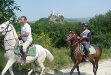 Tour a cavallo in Valmarecchia