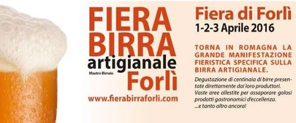 Fiera della Birra artigianale 2016 a Forlì