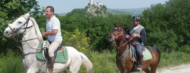 Tour a cavallo in Valmarecchia